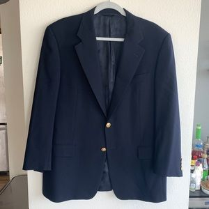 41R Hickey Freeman Oakbrook Wool Blazer / Jacket